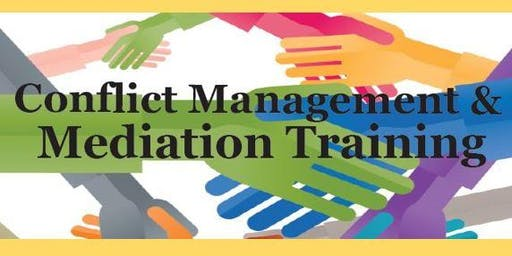 40-Hour Mediation Training Spring 2020