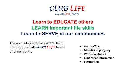 CLUB LIFE KIDS EVENT