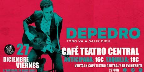 DEPEDRO EN CAFÉ TEATRO CENTRAL. entradas
