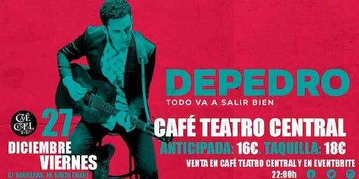 DEPEDRO EN CAFÉ TEATRO CENTRAL.