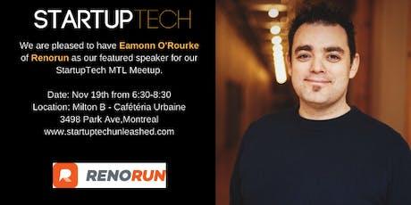 StartupTech MTL: Founders Talk Nov 2019 tickets