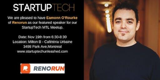 StartupTech MTL: Founders Talk Nov 2019