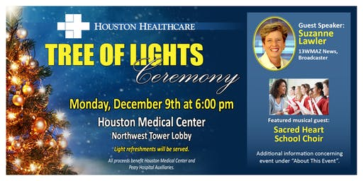 Houston Healthcare's Tree of Lights Ceremony