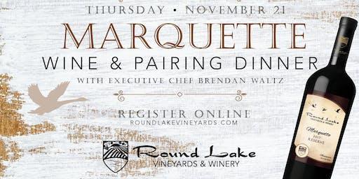 Marquette Wine Pairing Dinner