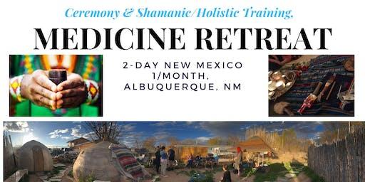 Holiday Gift of Light: Medicine Retreat Shamanic Training, Kambo, Sweat