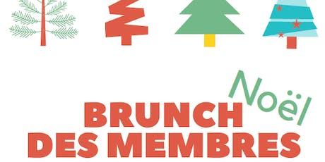 Brunch de Noël des membres de l'ALPABEM - Édition 2019 billets