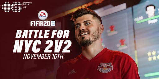 $1000 FIFA20 2V2 Tournament with Mike LaBelle & New York Red Bulls