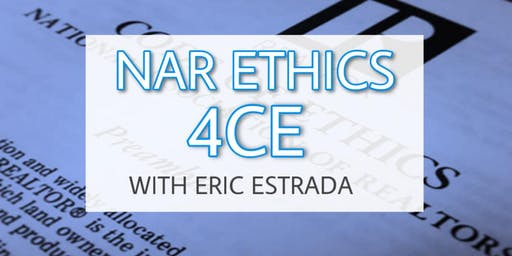 NAR ETHICS 4CE