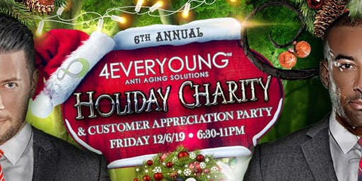 4Ever Young's 6th Annual Charity Holiday Party