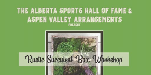 Rustic Succulent Box Workshop