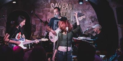 Concert et Jam Blues, Jessie Lee Houllier, 24 nov, Caveau des Oubliettes