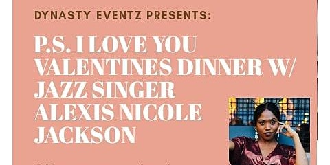 P.S. I love you Valentine Live Jazz Dinner