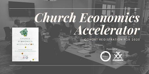 Church Economics Accelerator ($800 Deposit/Church for 3 people)