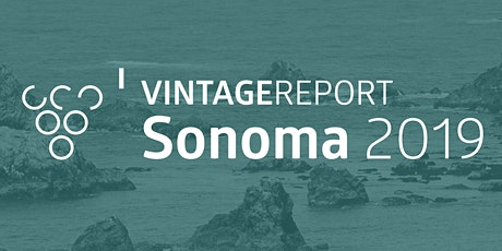 2019 Sonoma Vintage Report tickets