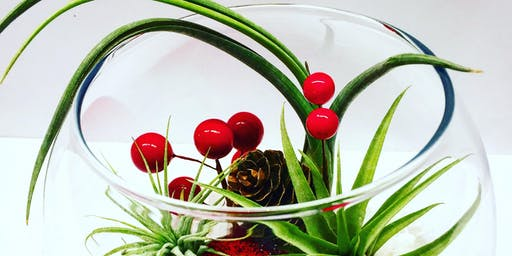 Ugly's Pub & Grill Holiday Air Plant Terrarium Nite