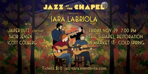 Jazz at the Chapel presents Sara L'Abriola and Friends