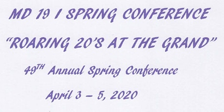 MD 19 I Spring Conference tickets