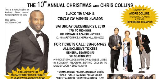 10th ANNUAL CHRISTMAS WITH CHRIS COLLINS BLACK TIE GALA