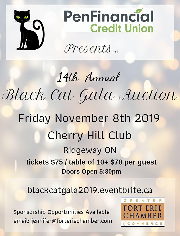GFECC 14th Annual Black Cat Gala Auction image