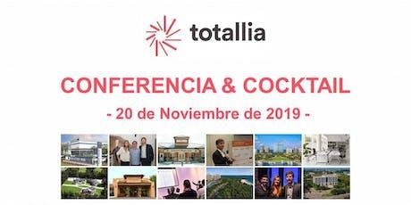 Totallia - Conferencia & Cocktail entradas