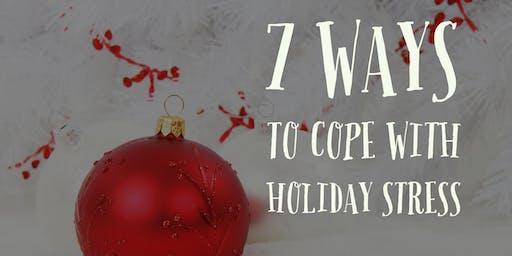 7 Ways to Handle Holiday Stress Webinar