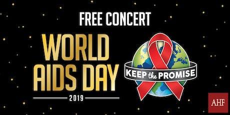 AHF World AIDS Day Washington DC tickets