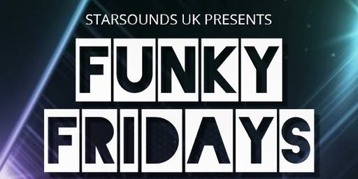 Funky Fridays Over 30's night