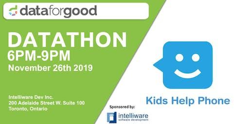 Kids Help Phone DataThon: Presentation Day (Event 2)