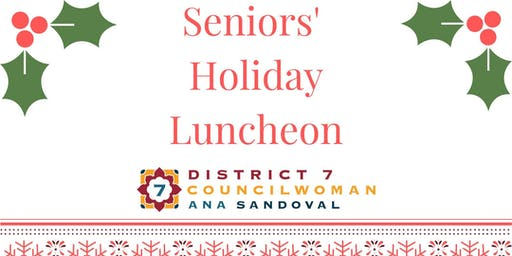 District 7 Seniors' Holiday Luncheon