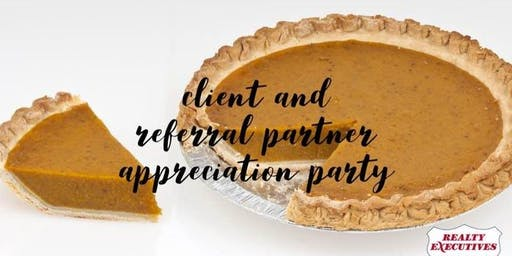 Client and Referral Partner Appreciation Pie Party
