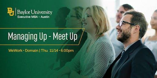 Managing Up - Meet Up