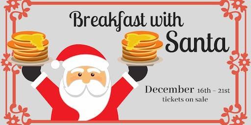 Breakfast with Santa at Bernardo Winery Dec. 16th- 21st