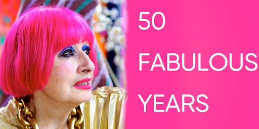 Dame Zandra Rhodes Celebrating 50 Fabulous Years