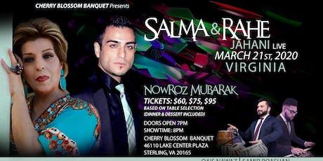 Salma & Rahe Jahani Nowroz Celebration tickets