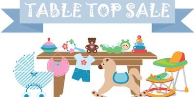 Baby & Children's Table Top Sale