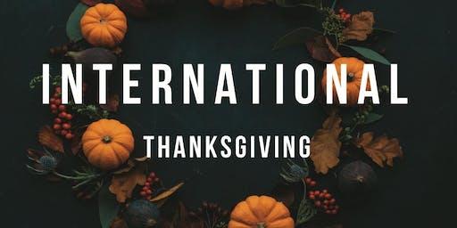 International Thanksgiving 2019