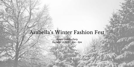 Arabella's  Winter Fashion Fest tickets