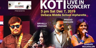 Koti Live in Concert - Atlanta Dec 7, 2019