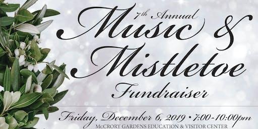 McCrory Gardens 7th Annual Music & Mistletoe Fundraiser