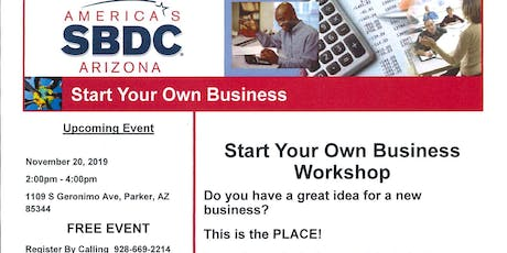 Start Your Own Business Workshop tickets