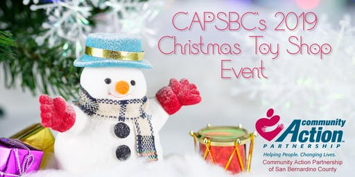 Christmas Toy Shop with CAPSBC 2019