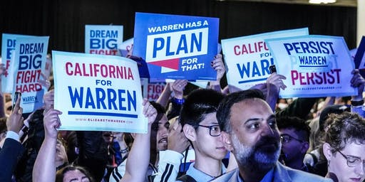2019 CA DEMOCRATIC PARTY STATE CONVENTION WITH TEAM WARREN