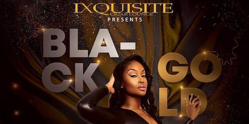 Ixquisite Black - Gold Champagne Party