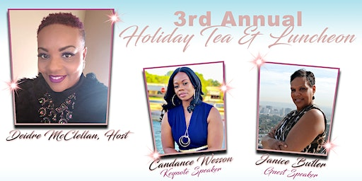 Fountain of Blessings' 3rd Annual Holiday Tea & Luncheon