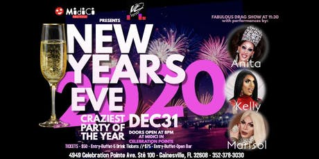New Years Eve at MidiCi tickets