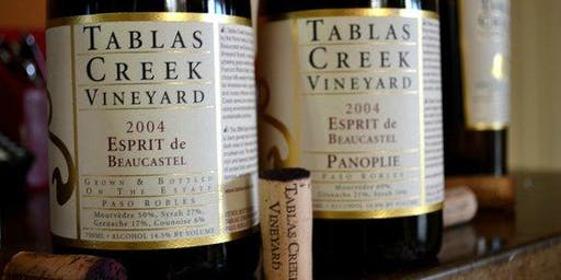Winemaker Dinner With Tablas Creek