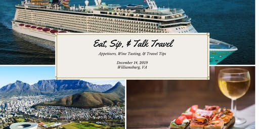 Eat, Sip, and Talk Travel