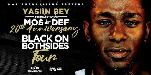 "(Postponed) Yasiin Bey ""Black On Both Sides"" 20th Anniversary"