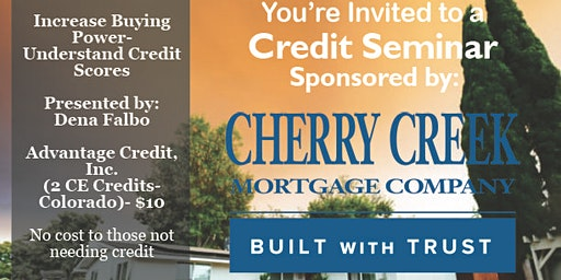 Credit Seminar - CCMC 1.23.20