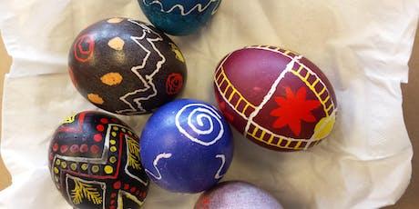 Ukrainian Egg Decorating tickets